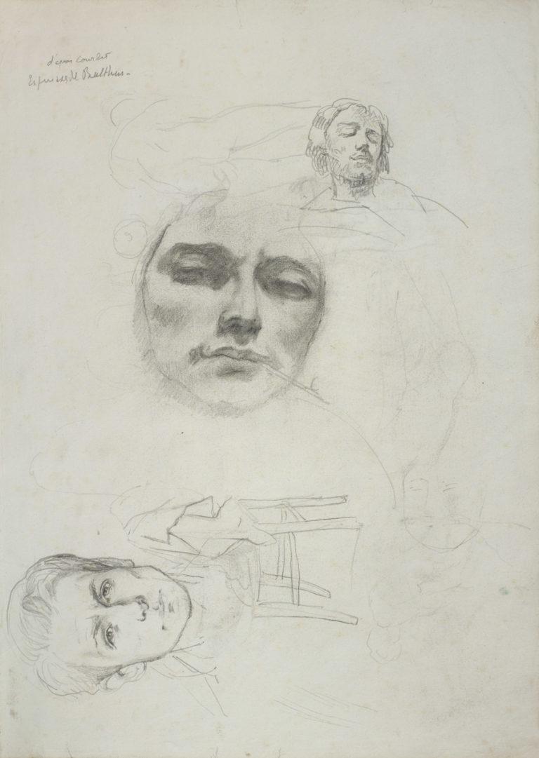 Autoportrait aux deux Courbet