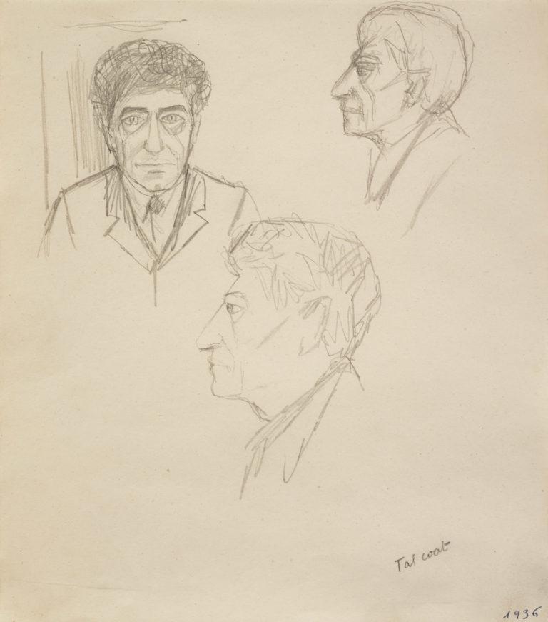 Giacometti triple portrait