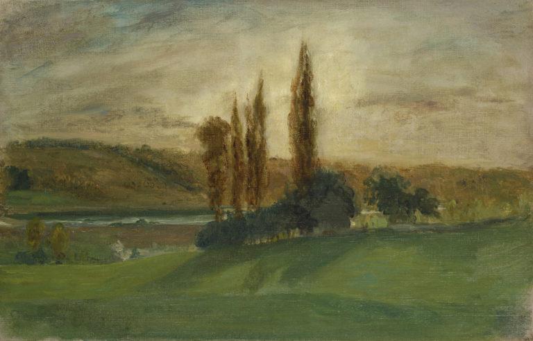 Landscape with River, Champrosay