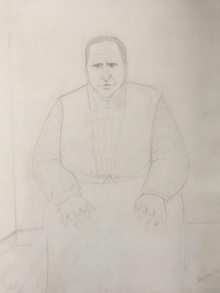 Study for Gertrude Stein Portrait