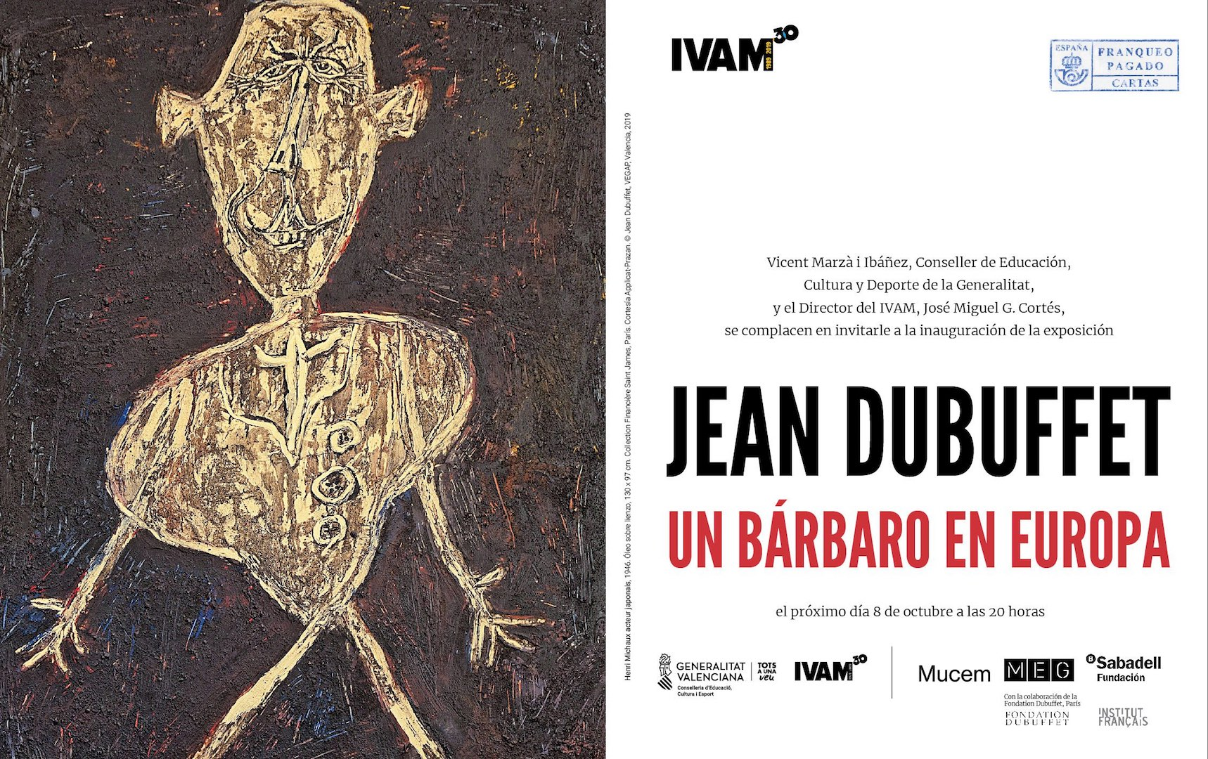 Image for Jean Dubuffet